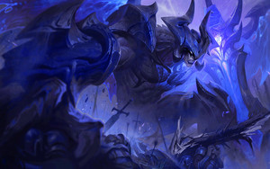 Preview wallpaper Aatrox, League Of Legends, Video Game