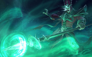Preview wallpaper Video Game, Karthus, League Of Legends, Magic