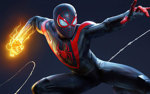 Preview wallpaper of Marvel, Comics, Miles Morales, Spider-Man