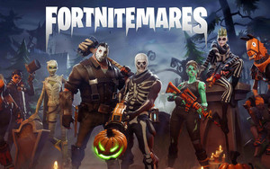 Preview wallpaper Video Game, Fortnite, Hero, Halloween