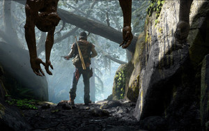 Preview wallpaper of Days Gone, Screenshot, Zombie Game
