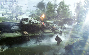 Смотреть обои Battlefield 5, E3 2018, Screenshot, Video Game
