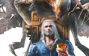 Preview wallpaper of The Witcher3, Geralt