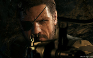 Preview wallpaper Metal Gear Solid V: Ground Zeroes, Rifle, Scar