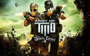 Preview wallpaper Army of Two: The Devil's Cartel, Альфа, Браво