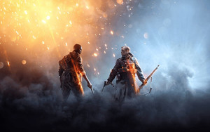 Preview wallpaper of Battlefield 1, Poster