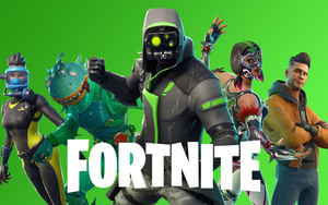 Preview wallpaper Video Game, Fortnite, Hero