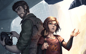 Preview wallpaper of Ellie, Joel, The Last of Us Part II