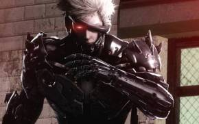Смотреть обои metal gear rising, revengeance, raiden