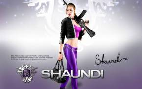 Preview wallpaper of Девушка shaundi из Saints Row The Third