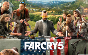 Preview wallpaper of FarCry 5, Ubisoft, Game