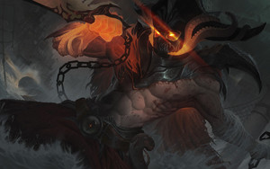 Preview wallpaper Pyke, League Of Legends, Video Game
