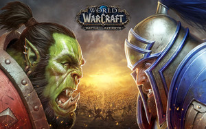 Preview wallpaper of World WarCraft, Battle For Azeroth