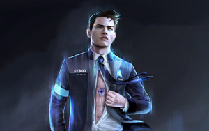 Preview wallpaper of Video Game, Connor, Detroit, Become Human