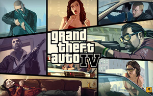 Preview wallpaper Video Game, Grand Theft Auto IV, GTA IV, RockStar