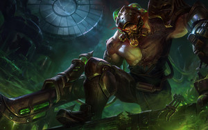 Preview wallpaper Tryndamere, League of Legends, Video Game