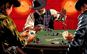Preview wallpaper of Poker, Red Dead Redemption 2, RDR2
