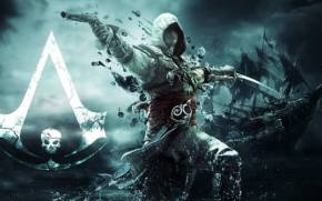Смотреть обои Assassin's Creed IV: Black Flag, ассасин, пират