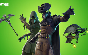 Preview wallpaper Plague Doctor, Video Game, Fortnite, Hero
