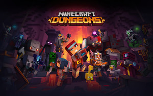 Preview wallpaper of Minecraft, Minecraft Dungeons, Video Game