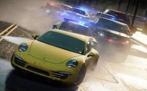 Смотреть обои Porsche 911 из Need for speed most wanted 2012