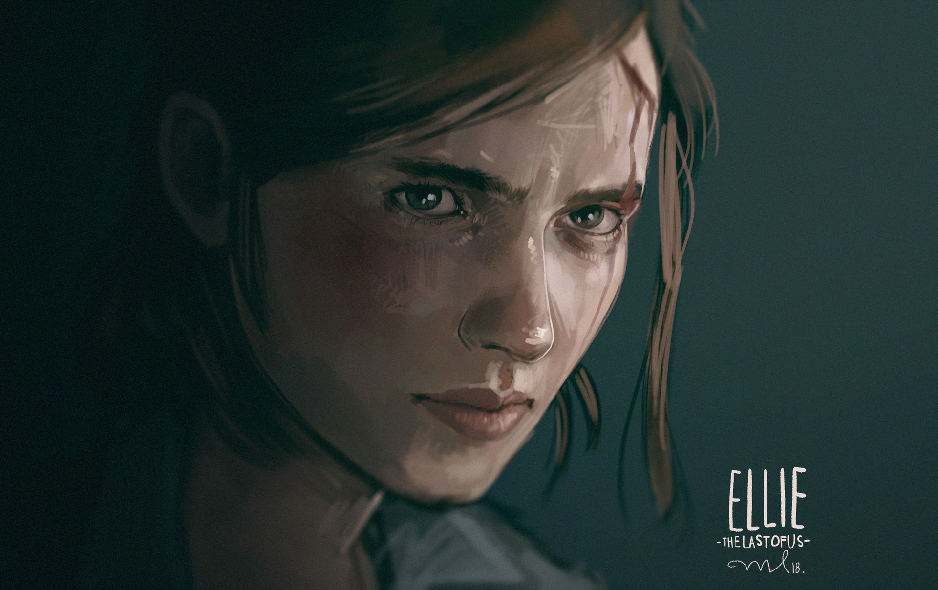 Wallpaper of Ellie, The Last of Us Part II, Video Game background & HD image