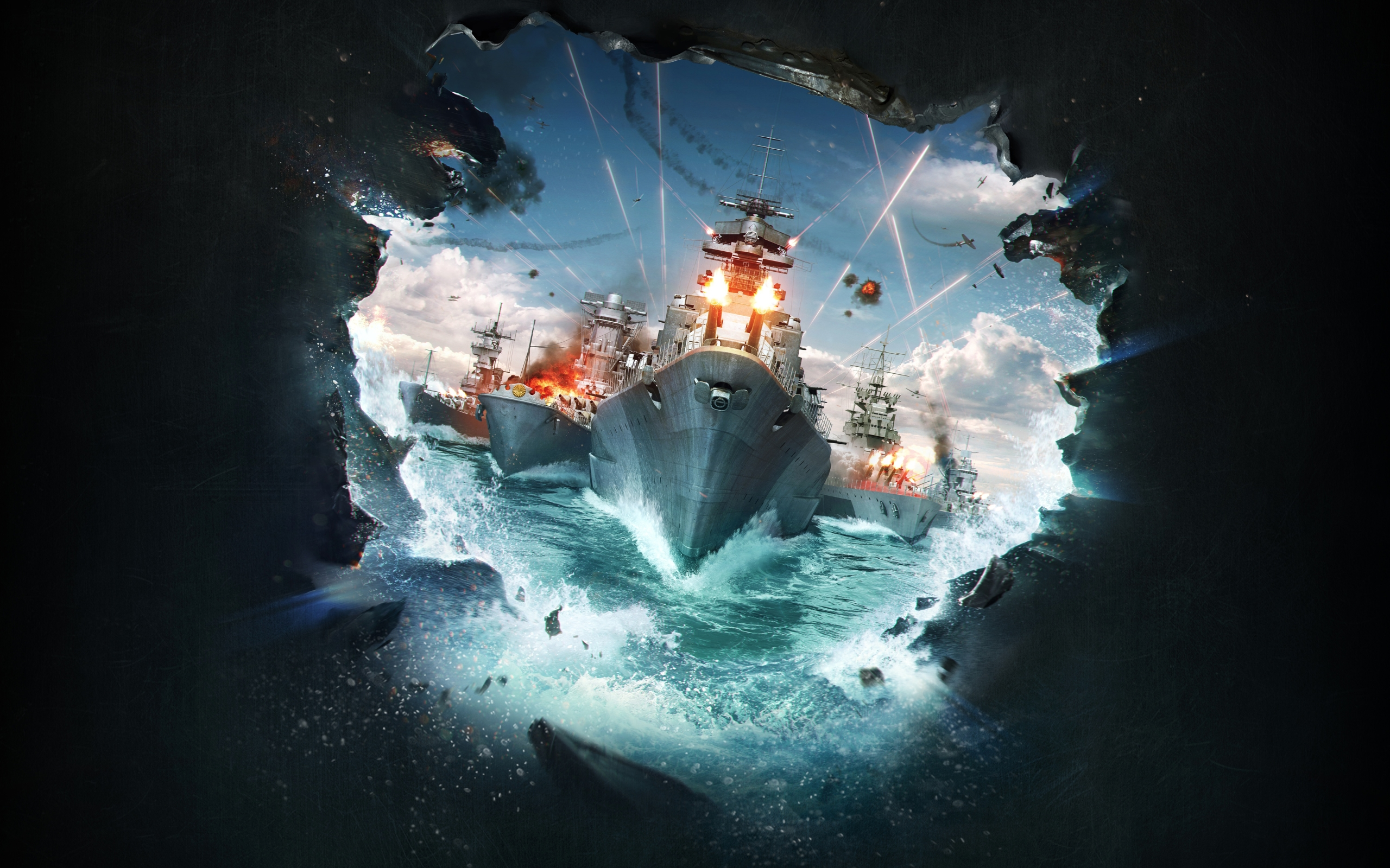 Wallpaper Of Warship World Of Warships Video Game Wargaming