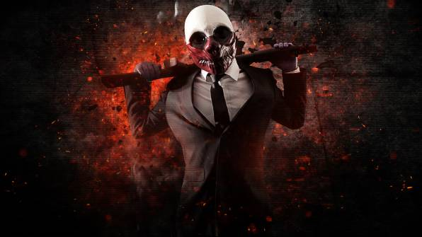 Обои Payday: The Heist, Wolf, Shotgun
