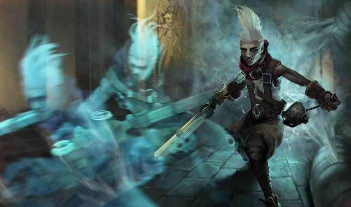Обои League of Legends, Ekko