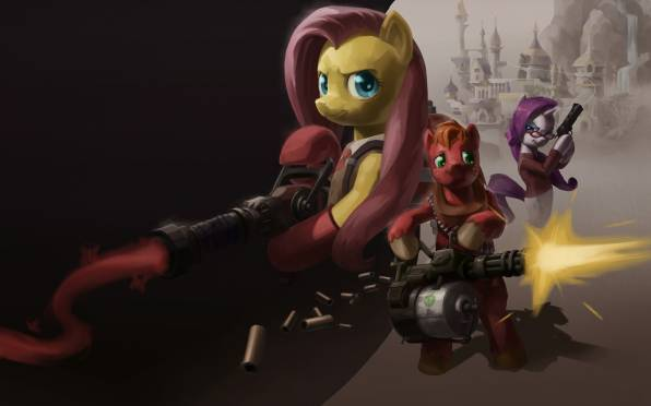 Обои Team Fortress, My Little Pony, MLP, Rarity