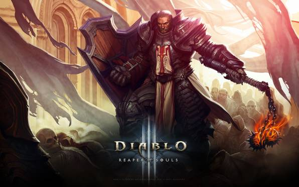HD Wallpaper Diablo III: Reaper of Souls, Паладин