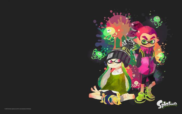 HD Wallpaper of Splatoon, Nintendo, Wii U