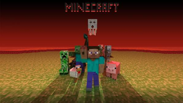 HD Wallpaper Minecraft, Collection of characters