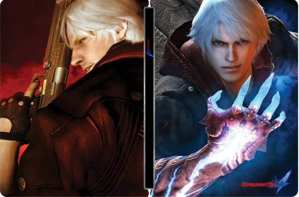 HD Обои Devil May Cry 4, Данте, Неро