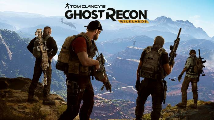 Обои Tom Clancy's Ghost Recon Wildlands