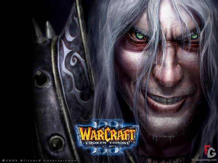 Обои Warcraft Frozen Throne