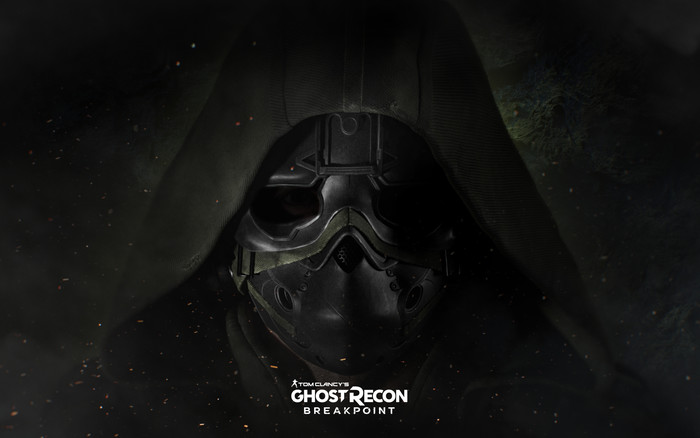 Wallpaper of Mask, Warrior, Tom Clancy's, Ghost Recon Breakpoin background & HD image