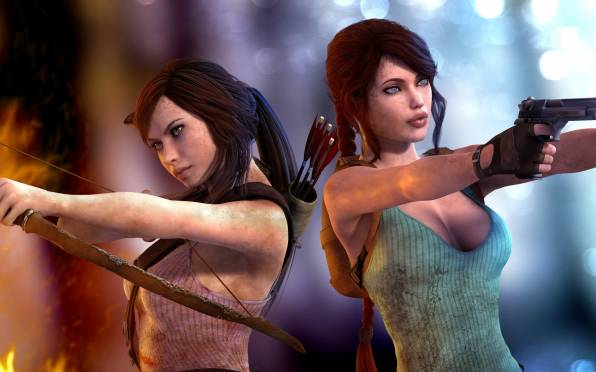 Обои Tomb Raider, Lara Croft, Aicka
