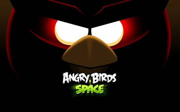 HD Wallpaper angry birds space
