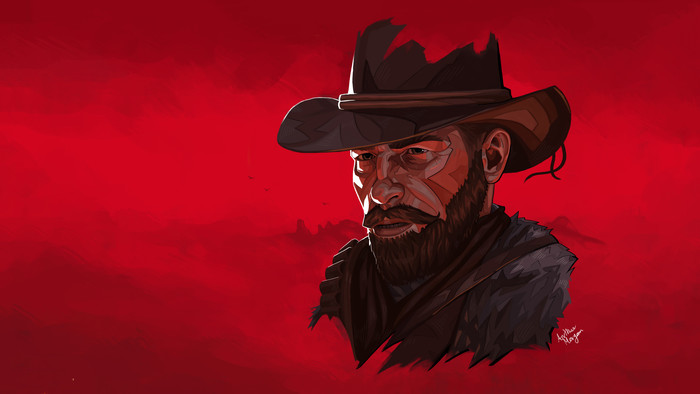 HD Wallpaper Arthur Morgan, Red Dead Redemption 2, RDR2, Art