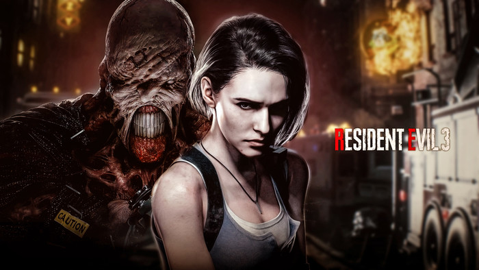 Wallpaper of Jill Valentine, Nemesis, Resident Evil 3, RE3 background & HD image