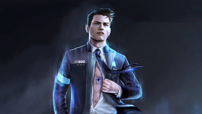 Wallpaper of Video Game, Connor, Detroit, Become Human background & HD image