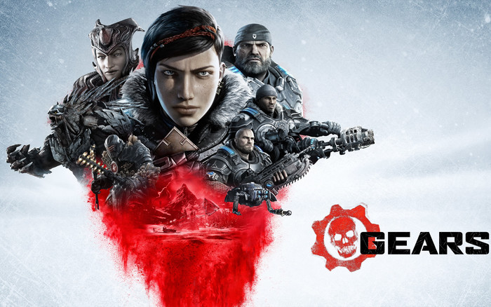 Wallpaper of Video Game, Gears 5, Poster, E3 background & HD image