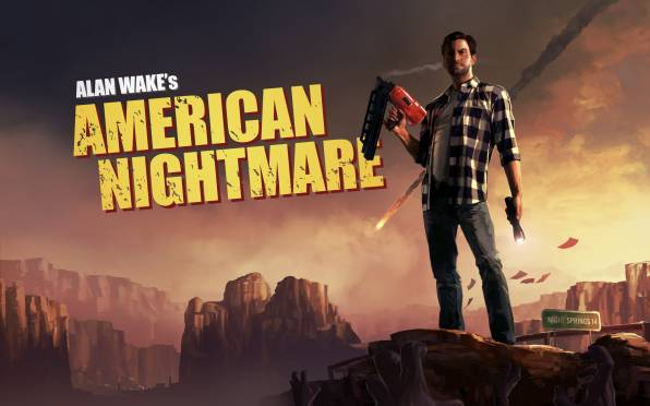 Обои alan wake, american nightmare