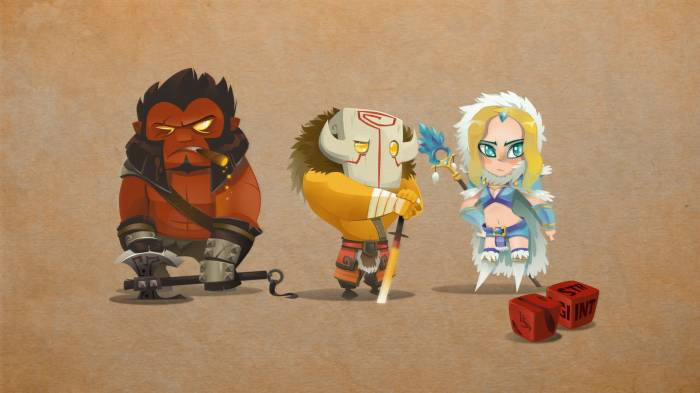 HD Wallpaper of Dota 2, Axe, Juggernaut, Ninja, Rylai