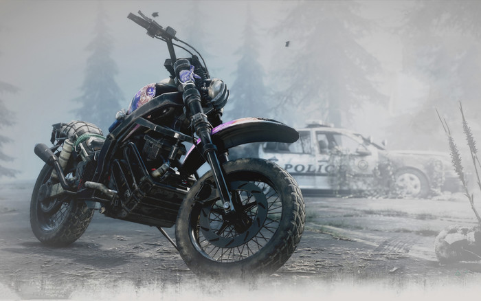 Wallpaper of Video Game, Days Gone, Bike background & HD image