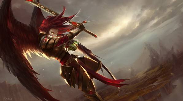 HD Wallpaper of league of legends, kayle