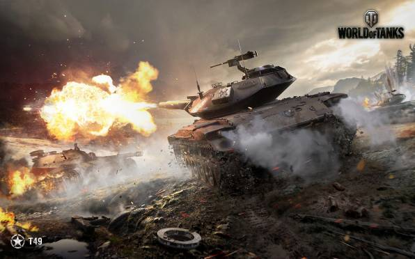 HD Обои World of Tanks, Т49