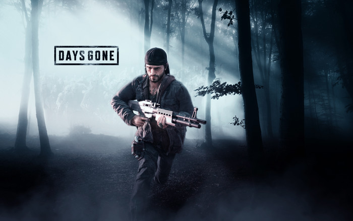 Wallpaper of Days Gone, Video Game, Poster, Shotgun background & HD image