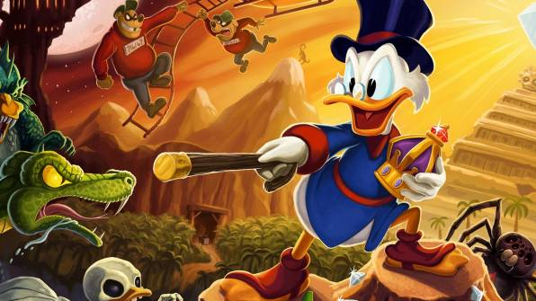 Обои DuckTales Remastered, Scrooge McDuck